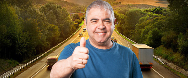 Obrigatoriedade de exame toxicológico para caminhoneiros reduz em 38% acidentes nas estradas